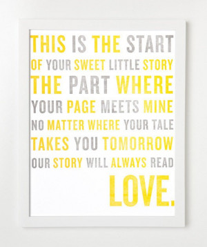 love story quote