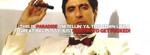 Tony Montana Facebook covers