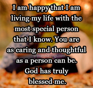 God has truly blessed me | Love and Sayings