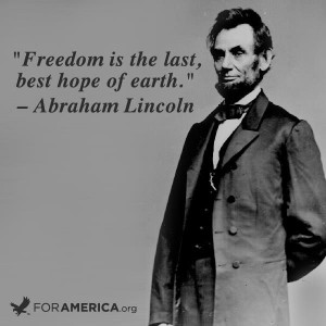 quote Lincoln as what he believes. Unfortunately, Obama never quotes ...