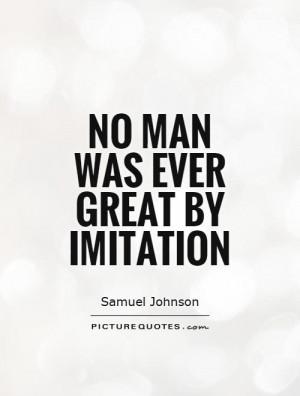 Imitation Quotes