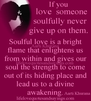 Quotes On Not Giving Up On Someone You Love