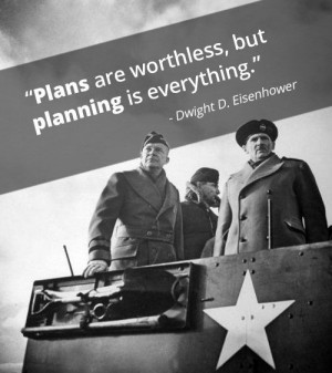 How To Make Important Decisions - Dwight D. Eisenhower