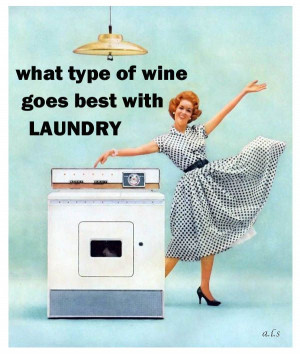 Technically, I do all my laundry when I first wake up. But this is ...