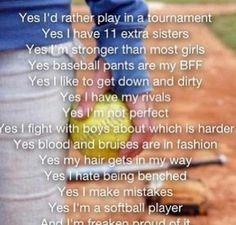 quotes softball, softbal player, softball sayings, softball quotes ...
