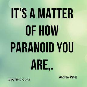Paranoid quote 2