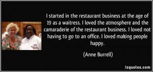 Waitress Sayings Quotes