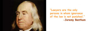 Jeremy Bentham Quotes