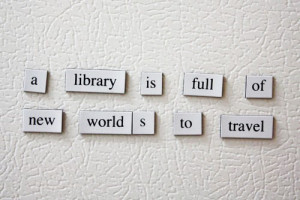 ... database of quotes about libraries, reading, books, literacy