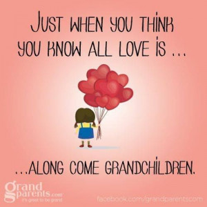 Grandchildren, I want to see my grandchildren grow one day when that ...