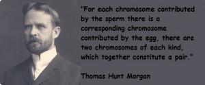 Thomas Hunt Morgan's quote #1