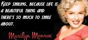 Marilyn Monroe Quotes About