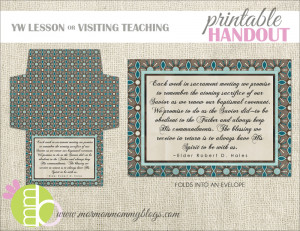 Just click the image to download this free printable envelope.