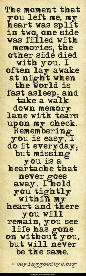 inspirational quotes for grieving family