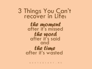 Life is precious!