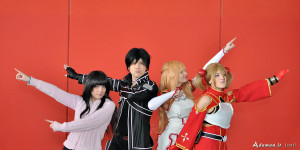 Sword Art Online Cosplay Group (funny shot no. 2) by ShinArus