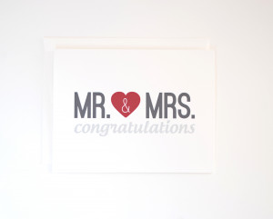 14 congratulations wedding card mr mrs congratulations card engagement ...