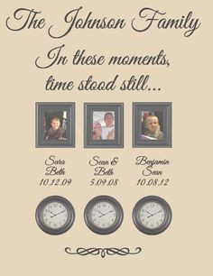 Still - A Moment in Time Changed Forever - 6 Styles - Choose Quote ...