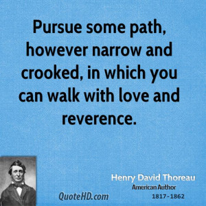 Henry David Thoreau Love Quotes
