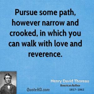 Henry David Thoreau Love Quotes