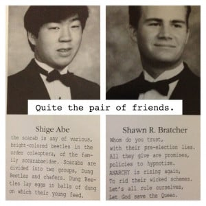 Senior quotes! Hilarious.