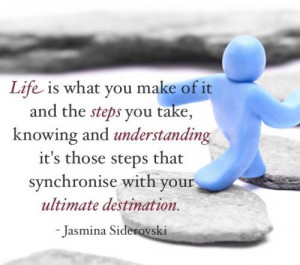 Understanding Life Quotes Life is what you make of it