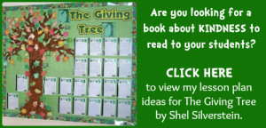 Kindness Lesson Plan Ideas: The Giving Tree By Shel Silverstein