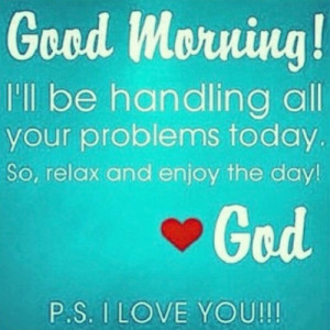 Good Morning God Quotes Tumblr