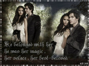 Damon and Elena Book Quotes