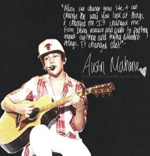 Austin quote!!!!! HOW CUTE!!!!!