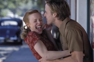 Rachel McAdams & Ryan Gosling the notebook