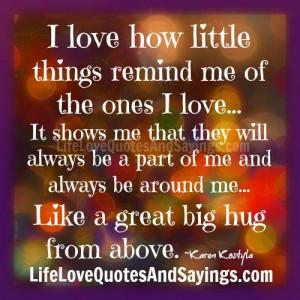 Hug Quotes And Sayings Like a great big hug from
