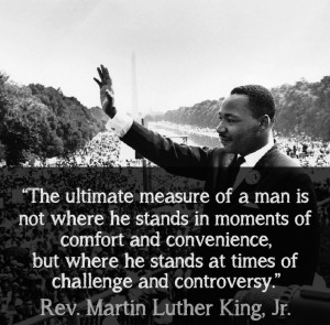 """... Luther King Jr. delivered his now iconic """"I Have a Dream"""" speech"""