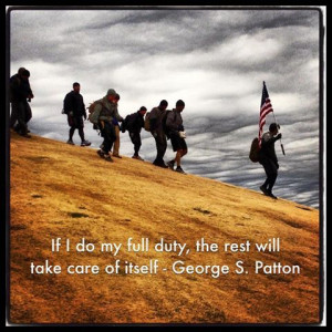 George S. Patton. A favorite of ours. #quotes #motivation #persistence