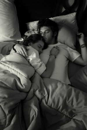 snuggling....in the nook! Best place to be :)