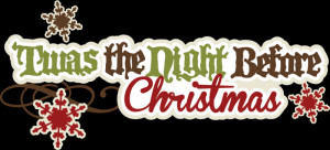 Twas the Night before Christmas.. and all through Toke and Talk..