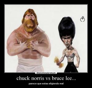 Bruce Lee Chuck Norris Meme Chuck norris vs bruce lee.