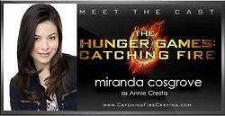 My art The Hunger Games Catching Fire finnick odair annie cresta they ...