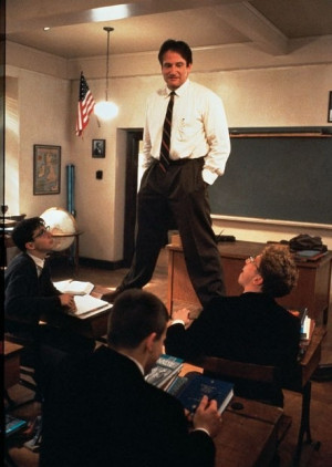 ... - and, in that endeavor, laziness will not do. —Dead Poets Society
