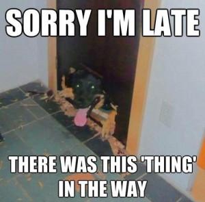 Sorry I'm Late! - Image