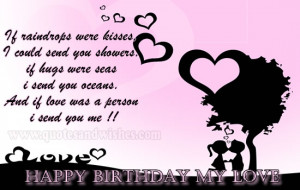 boyfriend Cute and Romantic Happy Birthday wishes for Boyfriend ...