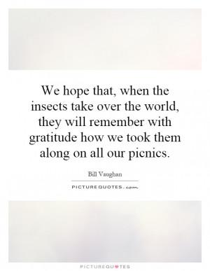 Picnic Quotes
