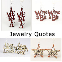 Jewelry Quotes - Words Jewelry