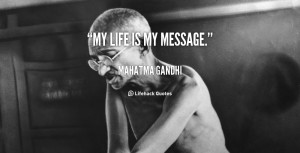 Gandhi Quotes On Life Preview quote