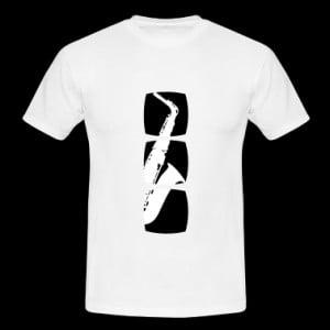 Saxophone musician motif T-Shirts