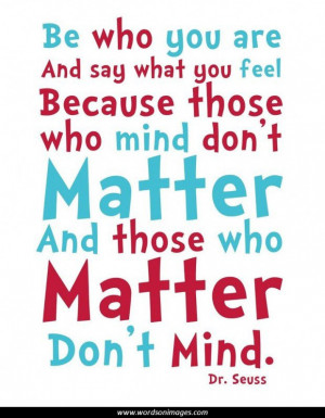 Inspirational quotes dr seuss