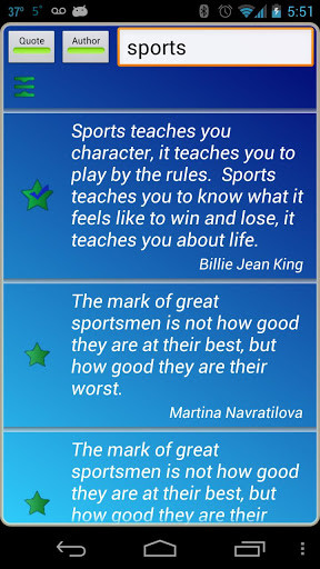 Sports Quotes Review