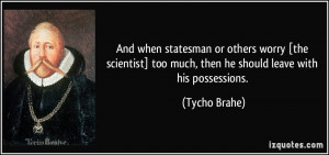 More Tycho Brahe Quotes