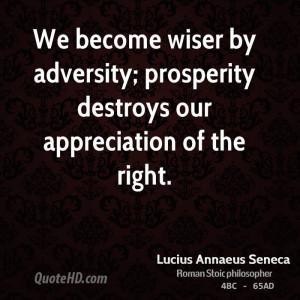 Lucius Annaeus Seneca Quotes