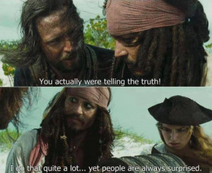 johnny depp, love, funny, quote, movie, pirates of the caribbean